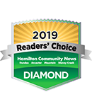 Readers' choice diamond winner logo